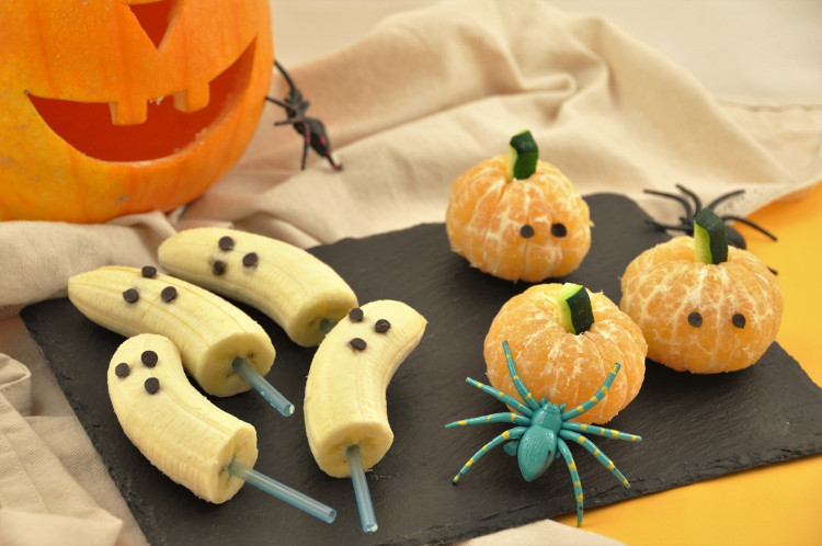 ¡Halloween fruits!