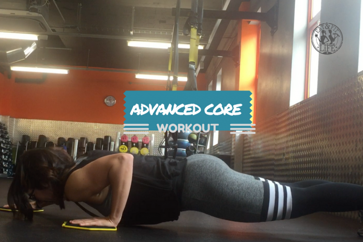 Advanced core workout