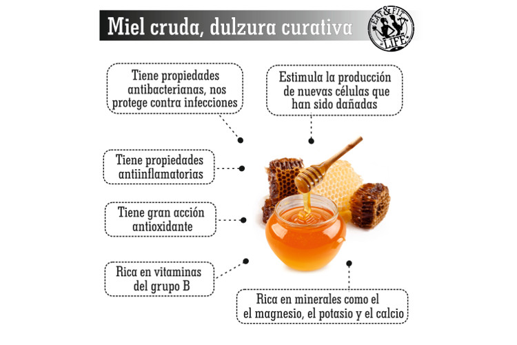 Beneficios de la miel cruda